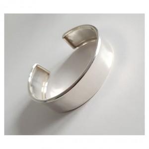 130 okazała srebrna bransoletka stan idealny