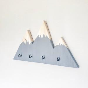 Potrójny wieszaczek górski z haczykami
